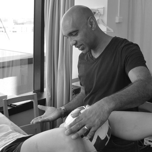 Ian Colaco, physiotherapist